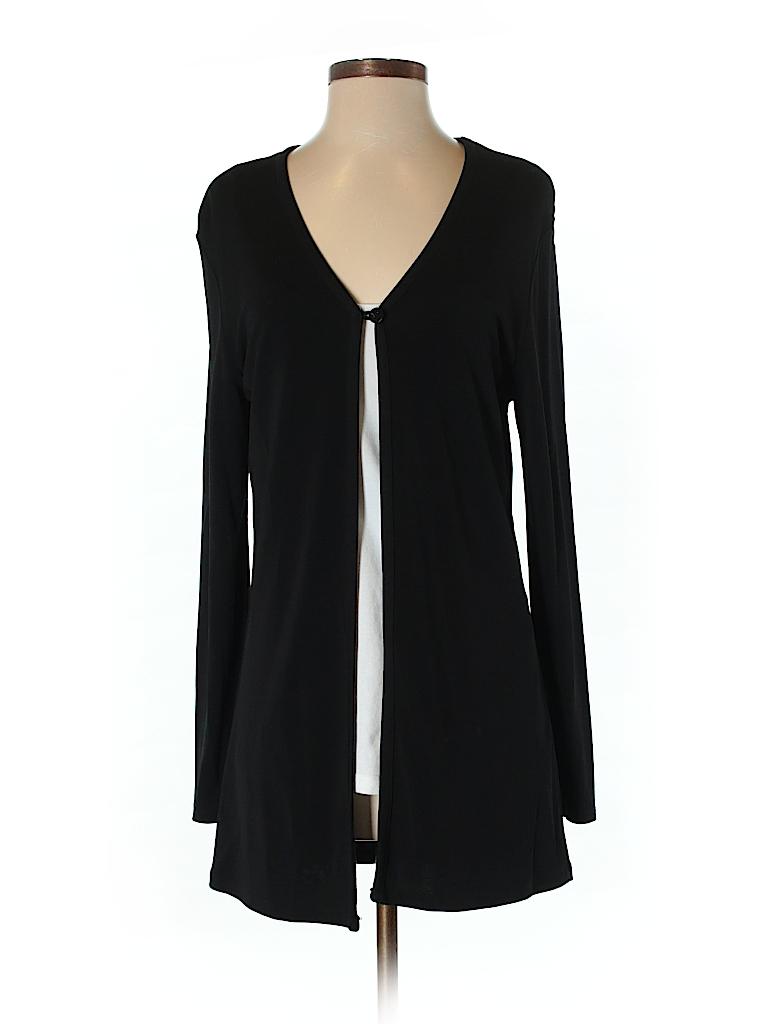 913fe7106e0 Casual Corner Annex Solid Black Cardigan Size S - 85% off