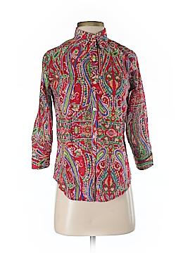 Ralph Lauren 3/4 Sleeve Button-Down Shirt Size XS (Petite)