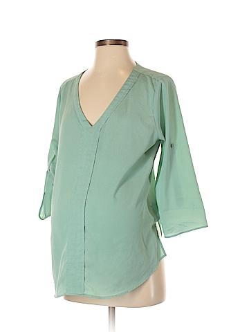 Millenium 3/4 Sleeve Blouse Size M (Maternity)
