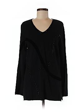 Susan Bristol Silk Pullover Sweater Size L