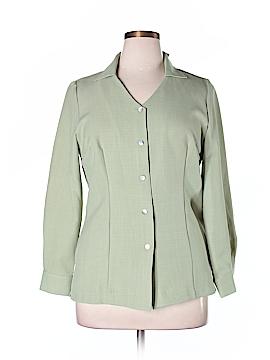 Jaclyn Smith Long Sleeve Blouse Size 14