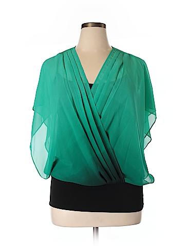 Apt. 9 Short Sleeve Blouse Size XL
