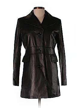 Ann Taylor Leather Jacket Size 2