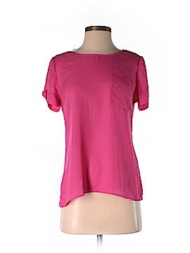 Cynthia by Cynthia Rowley Short Sleeve Blouse Size S