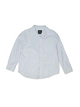 Mini Boden Long Sleeve Button-Down Shirt Size 5-6