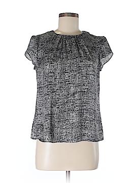 AK Anne Klein Short Sleeve Blouse Size M (Petite)