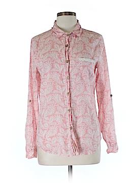 Love Potion Long Sleeve Button-Down Shirt Size M