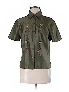 Sag Harbor Short Sleeve Blouse Size 8