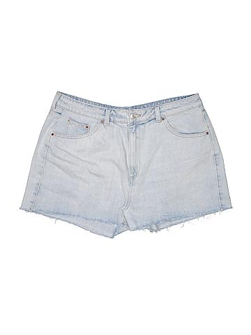 Topshop Denim Shorts Size 18 (Plus)