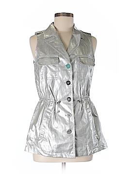 W by Worth Faux Leather Jacket Size 4