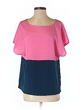 Cremieux Short Sleeve Blouse Size S