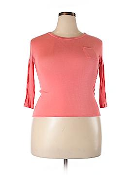 Essentials by Full Tilt 3/4 Sleeve T-Shirt Size XL