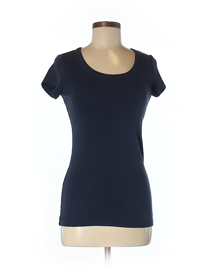 Cynthia rowley for t j maxx solid dark purple short for Tj maxx t shirts