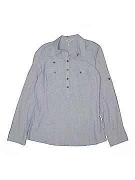 BCBGirls Long Sleeve Button-Down Shirt Size L (Youth)