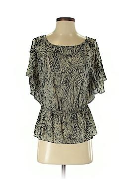 Leifsdottir Short Sleeve Silk Top Size 0