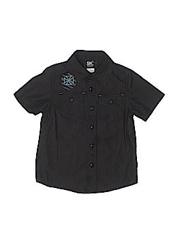 Kmart Short Sleeve Button-Down Shirt Size 4T