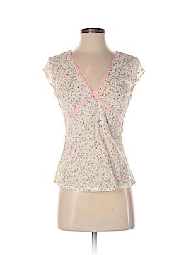 Janeville Short Sleeve Blouse Size 4