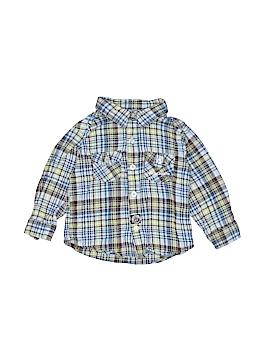 Skechers Long Sleeve Button-Down Shirt Size 2T