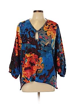 Allen B. by Allen Schwartz 3/4 Sleeve Blouse Size XL