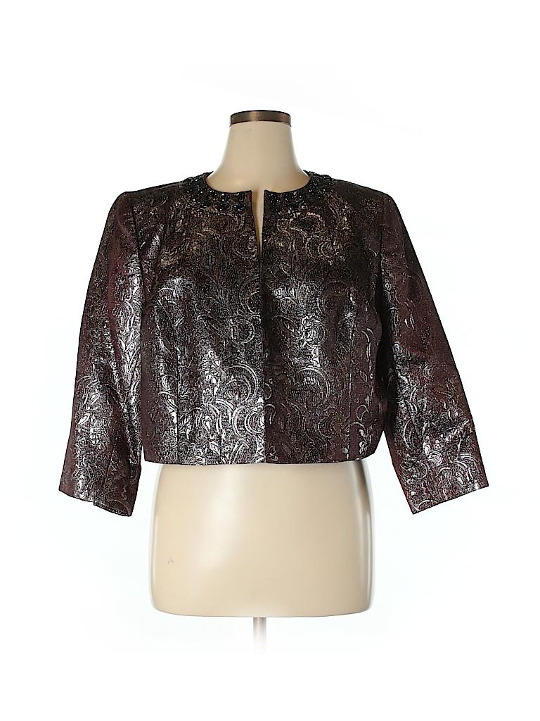 NIPON BOUTIQUE Women Jacket Size 18 (Plus)