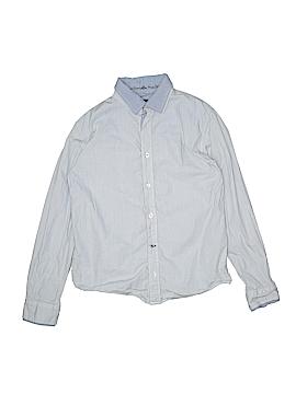 Buffalo by David Bitton Long Sleeve Button-Down Shirt Size L (Kids)