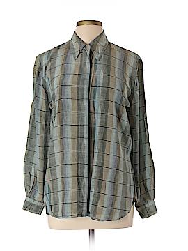 Tess Long Sleeve Silk Top Size L