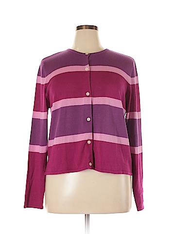 Victoria Holley Silk Cardigan Size 16
