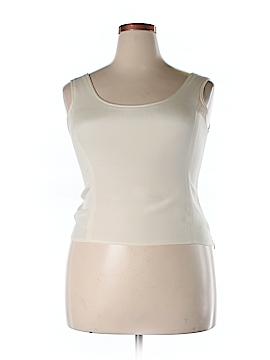 Jones New York Sleeveless Silk Top Size 14