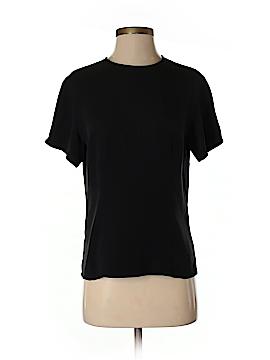 Nordstrom Studio 121 Short Sleeve Silk Top Size XS