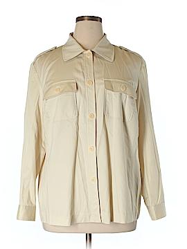 Tamotsu New York Long Sleeve Button-Down Shirt Size 18w (Plus)