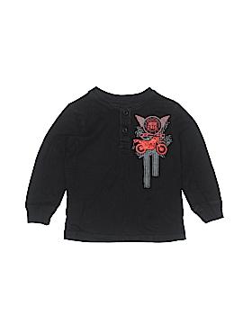 WonderKids Long Sleeve Henley Size 3T