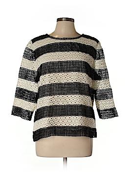Talbots 3/4 Sleeve Top Size L (Petite)