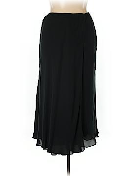 INC International Concepts Silk Skirt Size 14w