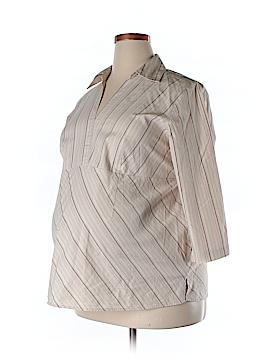Duo Maternity 3/4 Sleeve Blouse Size 1X (Maternity)