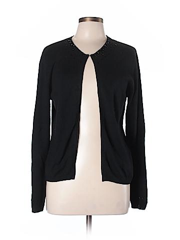 Nicole Miller Silk Cardigan Size L