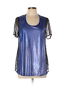 AIKO Short Sleeve Blouse Size M