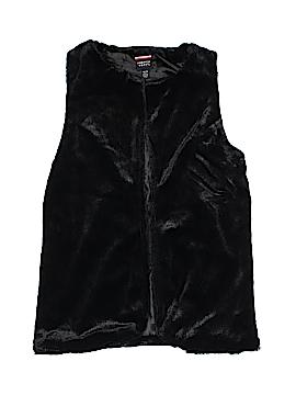 French Toast Faux Fur Vest Size 14