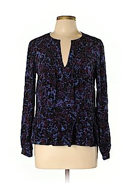 Rebecca Taylor Long Sleeve Silk Top Size 12