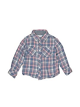 Pd&c Long Sleeve Button-Down Shirt Size 4T