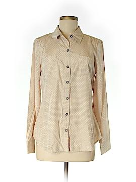 Nurture Long Sleeve Button-Down Shirt Size M