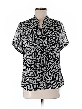 Sag Harbor Short Sleeve Blouse Size M