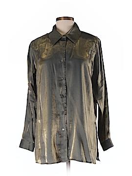 Jaclyn Smith Long Sleeve Blouse Size 8