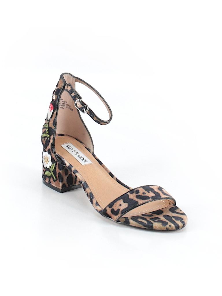 c279f9c0127 Steve Madden Animal Print Graphic Brown Heels Size 6 1 2 - 79% off ...