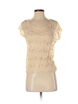 Eyelash Couture Short Sleeve Top Size XS