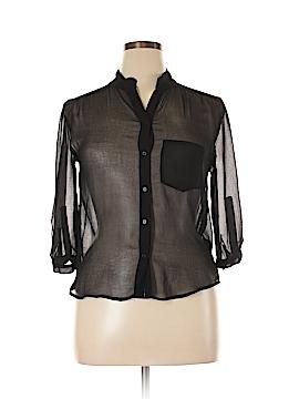 Patchington Long Sleeve Blouse Size M
