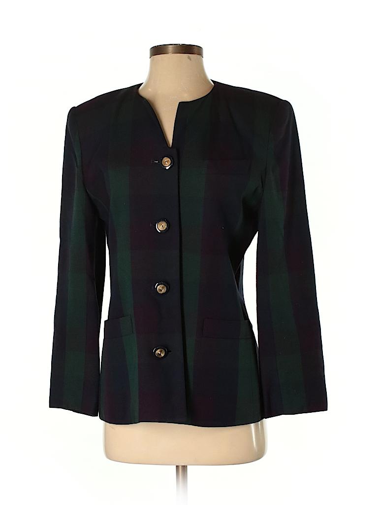 6ac138e3f33 Casual Corner 100% Rayon Dark Green Blazer Size 8 (Petite) - 94% off ...
