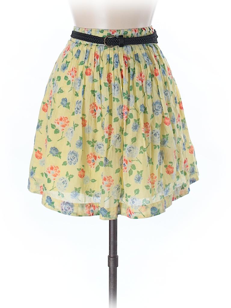 461fd6d306 Kookai Yellow Casual Skirt Size 38 (FR) - 92% off