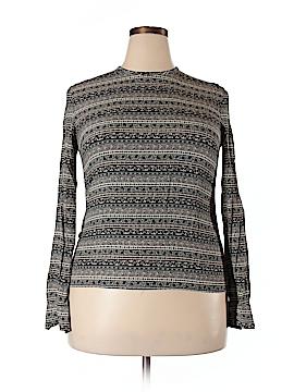 Rena Rowan Long Sleeve Blouse Size 14