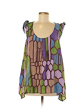 We Love Vera Sleeveless Silk Top Size 8
