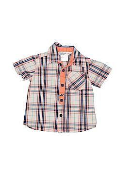 Beebay Short Sleeve Button-Down Shirt Size 0-3 mo